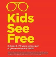 **Free Eyeglasses for Kids age 4-10** ~ @Superstore Optical