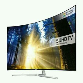 Samsung UE65KS9000 65 inch SUHD SUPER 4K HDR Premium Curved TV super slim.