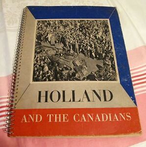 Livre ancien Holland and the Canadians