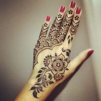 Henna tattoos - party's - baby showers - wedding
