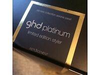 GHD Platinum Serene Pearl hair straightener/ styler