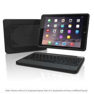 Zagg Rugged -Bluetooth Keyboard with Cover for Ipad Pro