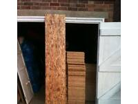 osb 2315 x 460 9mm used for floors roofs sheds dog kennels 100s of uses new machine cut