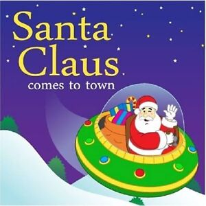 Book for sale: Santa Claus comes to town in a Spaceship.
