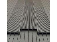 3.6mtr Grey Composite Decking Boards