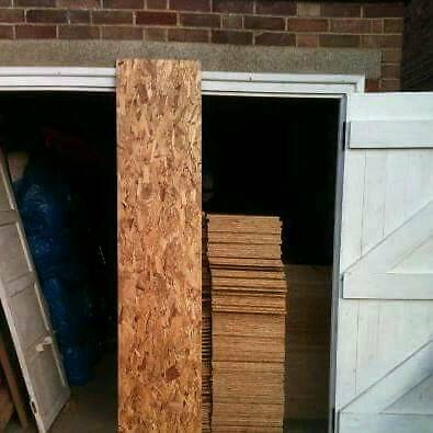 Osb 2315 x 460 9mm flooring roofs walls stables shelving insulation lofts