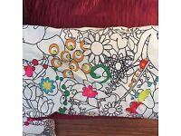 Cushion covers and infills - plain and pattern - crafting / household