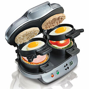 Hamilton Breakfast Sandwich Maker - Single and Double