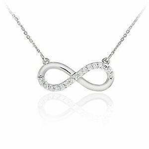 INFINITY & HEART OR INFINITY &CROSS NECKLACE