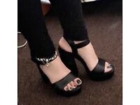 Black & Beautiful Catwalk Heels