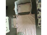Girls cot bedding