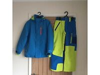 Boys Protest 1000 Ski Jacket and Salopettes in excellent condition, Suitable For Age 11+