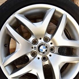 """18"""" BMW M sport Alloy Wheels with Dunlop Sport Tyres"""