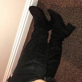 Newlook Thigh High Boots