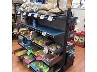 Shop commercial shelves gondola units