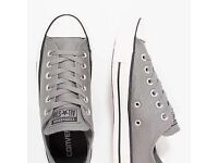 Converse All Star Grey/Silver Trainers Size UK 13 - BRAND NEW IN BOX