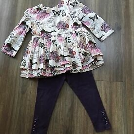 Girls M &S Outfit 18-24m