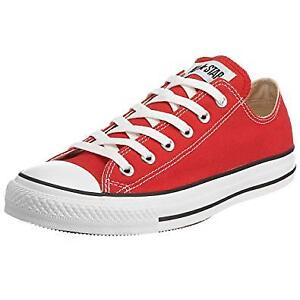 BRAND NEW RED CONVERSE SHOES - SOULIERS CONVERSE ROUGES NEUFS