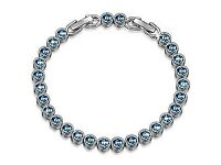 LADY COLOUR Ocean Dream Bracelet for Women with Crystals from Swarovski
