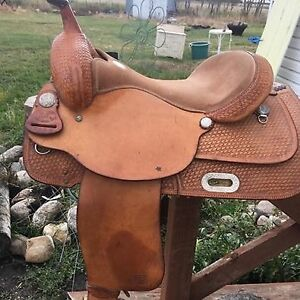 Billy Cook Trial saddle