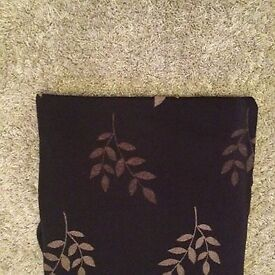 Black Patterned Curtains