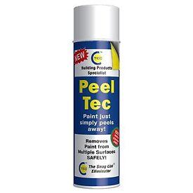 CT1 Peel Tec Paint Remover/Stripper, Transparent, 500ml