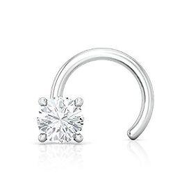 Buy Gold & Diamond Nose Pin For Women Online