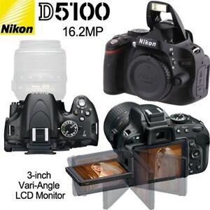 Nikon D5100 Camera (Body Only)
