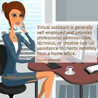 It's time to hire your own Virtual Assistant! (available ASAP)