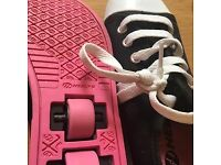 Girls heelys size 13 perfect condition