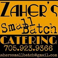 Catering Service: Zaher's Small Batch