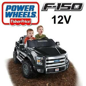NEW* FISHER PRICE FORD F150 RIDE ON BJM25 144667329 POWER WHEELS 12V BLACK