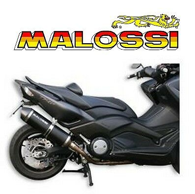 exhaust pipe silent malossi yamaha t max 530 tmax new exhaust 3216407 ebay. Black Bedroom Furniture Sets. Home Design Ideas