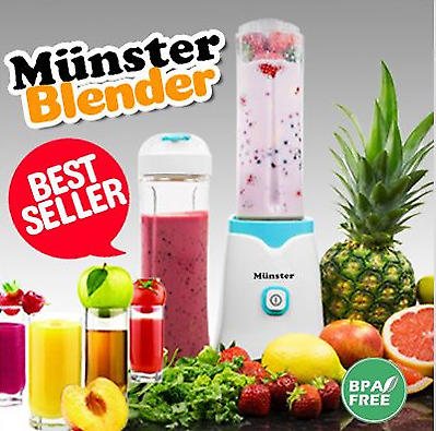 Can blend ice★Germany Design Munster Personal Smoothie Blender/Mixer/Smoothies maker