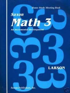 Saxon math 3 textbooks education ebay saxon math 3 homeschool fandeluxe Image collections