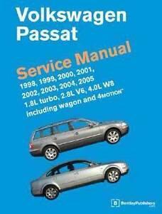 Volkswagen VW Passat (B5) Service Manual 1998 - 2005 Repair Book Hazelbrook Blue Mountains Preview