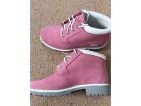 Pink Timberland Size 5