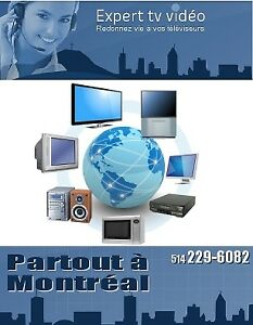 Réparation électroniques et téléviseurs