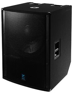 Ls2100p yorkville subwoofer - 10 months used