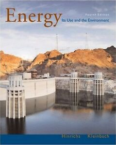 Energy: Its Use in the Environment