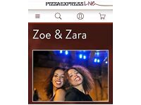 Zoe and Zara Seeking Soulful, positive guitarist to start work with as soon as possible