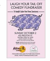 Laugh Your Tail Off Comedy fundraiser