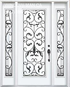 TwoSideLights Entry Single Front Door  talk to PRO
