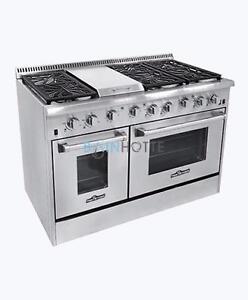 """Cuisinière au gaz - Thor Kitchen - Disponible en 30""""/36""""/48"""""""