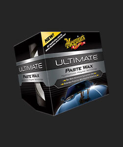 Meguiar's NEW!! Ultimate Pure Synthetic Polymer Hydrophobic Paste Wax 11 oz