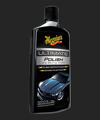Meguiars Ultimate Polish 473ml - G19216 + FREE APPLICATOR & MICROFIBRE OFFER!