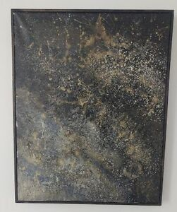 16 x 20 Kate Reid original abstract painting on canvas.