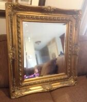 Beautiful Solid Victorian style mirror...