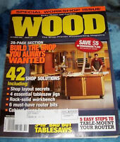 Wood magazine – 19 issues – ONLY $8
