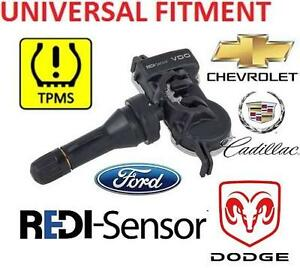 NEW REDI SENSOR TPMS SENSOR UNIVERSAL MULTI VEHICLE FITMENT - TIRE PRESSURE MONITOR SENSOR - 107714634